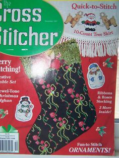 Cross Stitch Magazine The Cross Stitcher Dec.'97  by WitsEndDesign