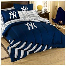 MLB New York Yankees Twin Bed in Bag Set