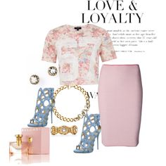 PrettyInPink Style Polyvore