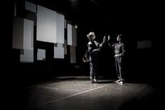 """Anastasia Papaeleftheriadou - """"Mirrored Me?""""  A story of the self and its double, inspired by Edgar Allan Poe's play William Wilson, is told in this dance performance."""