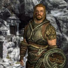 My new husband :P Argis the Bulwark in Markarth, Skyrim
