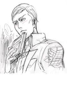 Erwin Smith Shingeki no Kyojin Attack on Titan