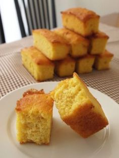 Low Carb Sweets, Cornbread, Healthy Recipes, Baking, Cake, Ethnic Recipes, Desserts, Food, Happy