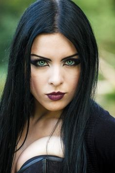 Model: Lady Kat Eyes Photo by © Brian Leon Photography Welcome to Gothic and Am. - Realty Worlds Tactical Gear Dark Art Relationship Goals Hot Goth Girls, Gothic Girls, Goth Beauty, Dark Beauty, Beautiful Eyes, Beautiful Women, Photos Of Eyes, Gothic Models, Goth Women