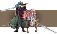 The Prince and The Princess by YamPuff.deviantart.com on @DeviantArt