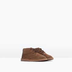 LEATHER DESERT BOOTS-Shoes-Baby boy (3 months - 3 years)-KIDS | ZARA United States