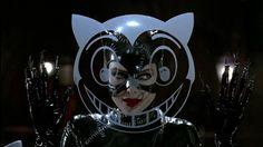 Michelle Pfeiffer as Catwoman, Batman Returns Meow - Visit to grab an amazing super hero shirt now on sale! Michelle Pfeiffer, Tim Burton, Batman Und Catwoman, Batgirl, Catwoman Cosplay, Joker, I Am Batman, Superman, Batman 1966