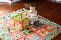 Whirly Wheels Baby Quilt « Moda Bake Shop