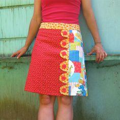 SALE Jack And Jill patchwork skirt Sz 4 by LoveToLoveYou on Etsy, $45.00