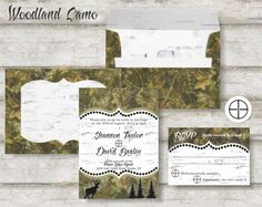 Classy Camo Wedding Invitations If Im Ever Asked Again I Like This