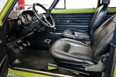 Deze Fiat 128 Rally uit december 1972 in de heerlijke groene seventies kleur wordt te koop aangeboden in Duitsland en is echt een unicum! De eerste eigenaar
