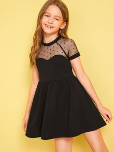 Shop sexy club dresses, jeans, shoes, bodysuits, skirts and more. Preteen Girls Fashion, Teenage Girl Outfits, Girls Fashion Clothes, Dresses Kids Girl, Little Girl Outfits, Kids Outfits Girls, Cute Dresses, Girl Fashion, Fashion Dresses