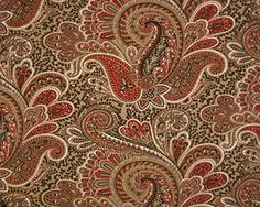 Paisley Stucco/Natural by Premier Prints - Drapery Fabric - Fabric By The Yard