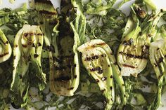 Find the recipe for Grilled Baby Bok Choy with Miso Butter  and other bok choy recipes at Epicurious.com