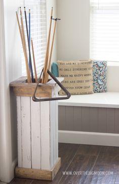 DIY Planter and Organization Box.