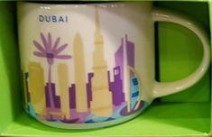 Dubai   YOU ARE HERE SERIES   Starbucks City Mugs