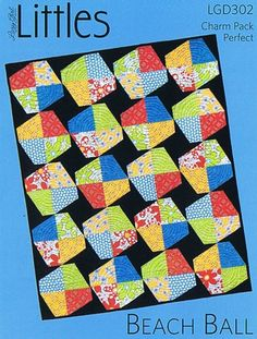 Beach+Ball+Quilt+Pattern,+Littles+by+Lazy+Girl+Designs+at+Creative+Quilt+Kits                                                            Shop at www.creativequiltkits.com and use the code- PINTEREST10 To save 10% off your order!