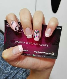 Uñas Nail Spa, Manicure And Pedicure, Love Nails, Pretty Nails, Acrylic Nails, Gel Nails, Nail Selection, Tribal Nails, Nail Polish Art