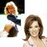 Kelli Finglass, director of the Dallas Cowboys Cheerleaders. I'm a little obsessed.
