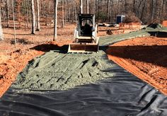 Reynolds Contracting specializes in earthwork services, including Central Virginia driveways with geotextile fabric. Driveways, Virginia, Fabric, Sidewalks, Tejido, Fabrics, Tejidos