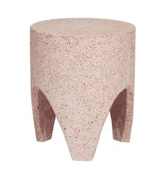 Terrazzo Tooth Stump - Soft Pink