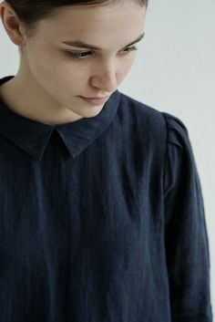 muku: Ladies fw 13/14 collection - shallow, pointed collar