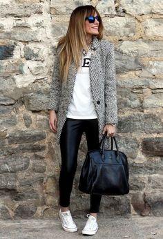how to wear: leer