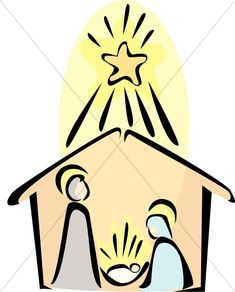 black and white nativity sketch church pinterest holy family rh pinterest com Angel Clip Art Black and White manger clipart black and white free