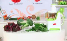 Vegetable Juices from JR Slow Juicer #MoreMall #HomeShopping #Indonesia www.moremall.tv