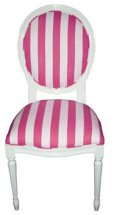 stripes. pink + white, adorable!