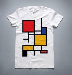 Arquitectura • Diseño: Diseños inspirados en la obra de Piet Mondrian