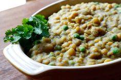 Vegan Coconut Curry Lentils and Potatoes