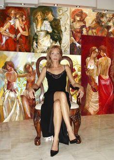 Lena Sotskova - Painter (Love her work.)
