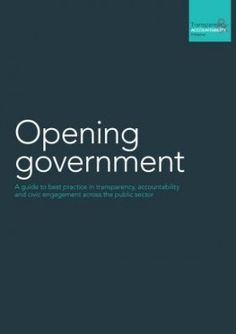 Opening Government | Transparency & Accountability Initiative