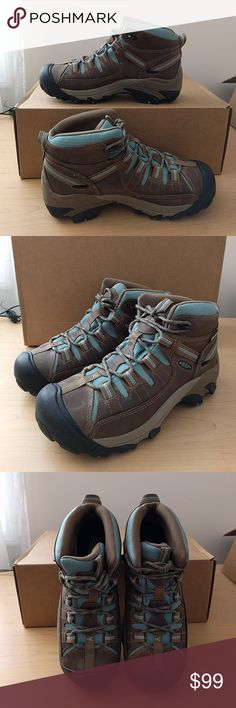 Keen women's Targhee II mid waterproof hiking boot Brand new. Never worn out. Women's size 7.5. Missing original box. Keen Shoes Athletic Shoes