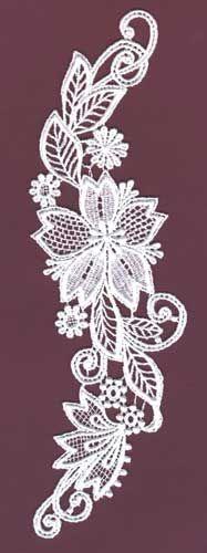 Lace Applique for collar