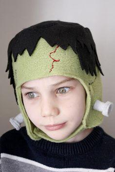 diy frankenstein hat