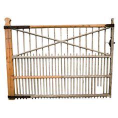 1stdibs | 19th century wooden Irish Garden gate