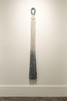 Liz Robb: Cotton Tassel, 2014, cotton, indigo; Photo: Maria Minnelli www.lizrobb.com