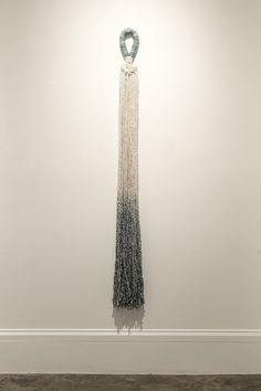 Liz Robb: Cotton Tassel, 2014, cotton, indigo;  Photo: Maria Minnelli www.lizrobb.com