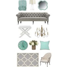 FWTX - Teal & Grey by amykwalton1 on Polyvore featuring interior, interiors, interior design, home, home decor, interior decorating, Aidan Gray, Safavieh, Crate and Barrel and Jayson Home
