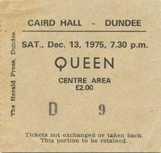 Just an ordinary concert ticket