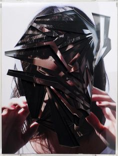 Amazingly precise paper collage work by Lucas Simoes.