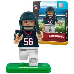 Brian Cushing Houston Texans OYO Sports 2016 Player Minifigure