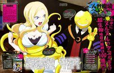 Anunciados dos miembros del reparto y nuevo Opening para el Anime Ansatsu Kyoushitsu.