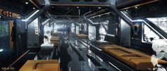 ArtStation - London Apex tower interior, Mathieu Latour-Duhaime