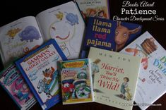 Books on Patience - Part of a Character Development series at Meaningful Mama. There are over 400 lessons on 52 character qualities.