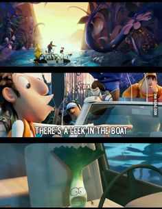 My favorite part of cloudy with a chance of meatballs 2