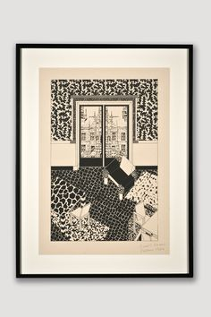 Interior 1 (Limited Edition Silkscreen) by George Sowden
