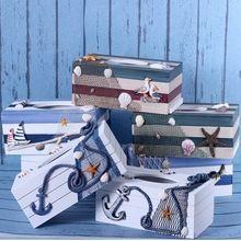 Stredomorského štýlu domáce dekoráciu papierové uteráky box papier papierovým obrúskom papierovej škatuľke retro jednotlivé drevené remeslá (Čína (pevninská časť))